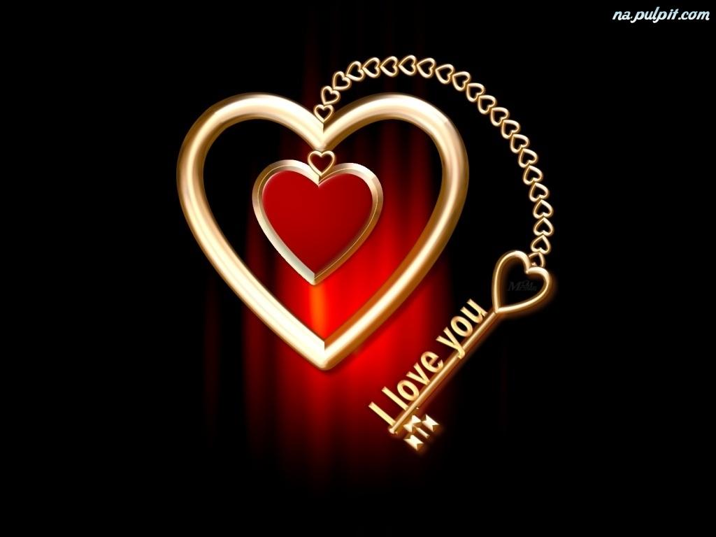 Vishal Name Love Wallpaper Hd : Serce, Klucz, ZLote Na Pulpit